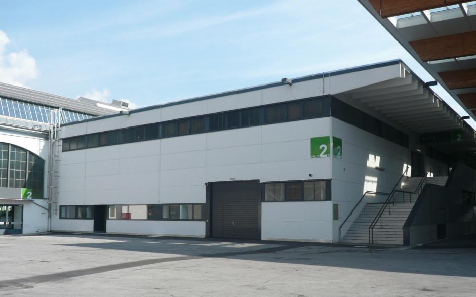2009 Umbau Messebüro Halle C, Ibk